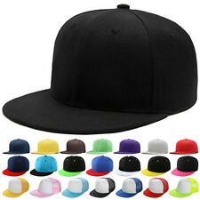 New Fashion Blank Plain Snapback Hats Hip-Hop adjustable bboy Baseball Cap AU