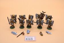 Warhammer 40k Space Marines Blood Angels 10 Sanguinary Guard Very Well Painted