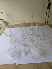 laborglas konvolut verschiedene Kolben Flaschen Zubehör