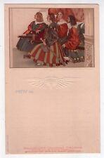 Menù Navigazione Generale Italiana. Florio - Rubattino 1909. Miracolo di Bolsena