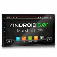 "7"" AUTORADIO MIT ANDROID 6.0.1 BLUETOOTH NAVI GPS USB SD DAB+ OBD2 WIFI 3G 2 DIN"