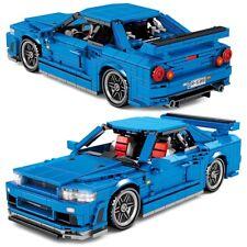 Car Speed Vehicle Racer Sports Supercar Blocks Bricks City Toys Building Kid New