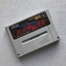 Shin Megami Tensei II 2 - Super Famicom SNES - NTSC-J JAP - ATLUS