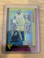 2019-20 Panini Chronicles LeBron James Flux Purple Prizm #'d /49 LA Lakers MINT