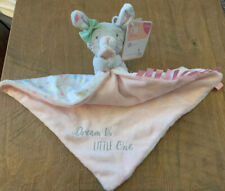 Mothercare Grey Bunny Comforter Blankie Pink & Floral Dream Big Little One NEW