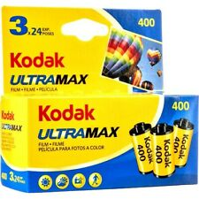 6 x Rolls KODAK  ULTRAMAX  400  COLOUR NEG Film--35mm/24 exps--expiry: 11/2022