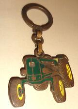 ancien porte cle émaillé  tracteur john deere