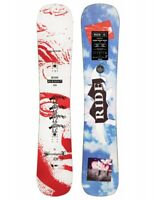 Ride Burnout Herren Snowboard 158 White Red Blue