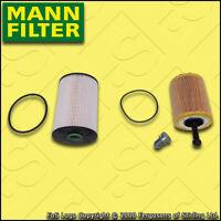 SERVICE KIT for VW GOLF MK5 (1K) 2.0 TDI MANN OIL FUEL FILTERS (2005-2010)