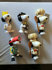 Snoopy McDonalds Promotional Collectables Circa 2000 Peanuts