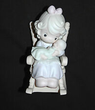 Precious Moments 1995 Love Never Leaves A Mother's Arms Figurine Enesco 523941