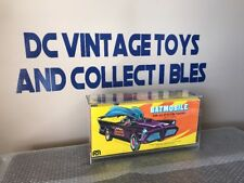 Vintage Mego Batmobile w/ Original Box 1974 UNUSED Condition Batman Acrylic Case