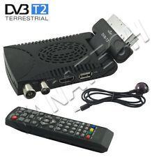 DECODER DIGITALE TERRESTRE RICEVITORE DVB-T2 FULL HD SCART USB E HDMI MPEG4 JPEG