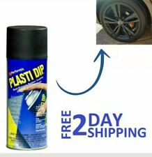 Plastic Dip Rubber Coating Spray Paint Matt Black Color Diy Car Wheels Rims Cans