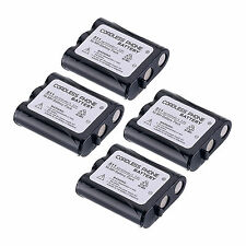 4 pcs Home Telephone Battery for Panasonic P-P511 ER-P511 HHR-P402 Accessories