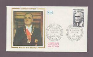 FDC 1975 - Georges POMPIDOU, Président de la République    (2191)