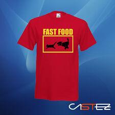 Camiseta fast food perro gato comida rapida humor divertida  ENVIO24/48h