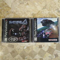 R TYPE DELTA + XEVIOUS 3D/G+ ✨Playstation PS1✨ USA Authentic 100% Complete RARE!
