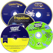 5-Pack: Thinking Things Series - Windows 8 / 7 / Vista / XP Thinkin' Games PC