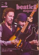 Beatleg Sep/2003 Mag Japan Brue Springsteen 2002 Tour Special