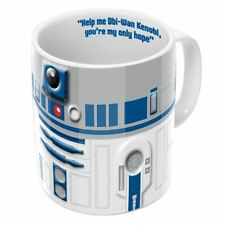 Official Star Wars R2-D2 Droid 2D Relief Coffee Mug - Gift Boxed Ceramic New
