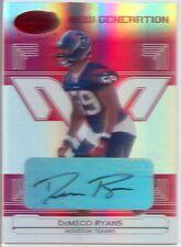 demeco ryans rc rookie auto autograph eagles alabama crimson tide #/250