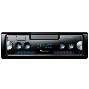 Pioneer SPH-C10BT Single DIN Multimedia Bluetooth Receiver with Phone Mount