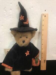 Boyds Bears Retired Vintage Esmeralda Witch Halloween Jointed Teddy Bear NWT