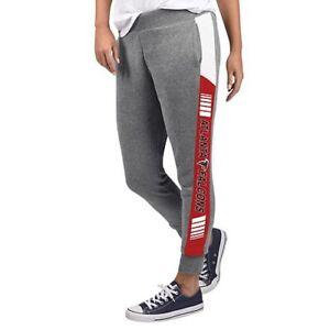 NFL Atlanta Falcons Officially Licensed Women's Fleece Tailgate Pants G-III