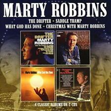 Marty Robbins - The Drifter/Saddle Tramp/What God Has Done/Christmas W (NEW 2CD)