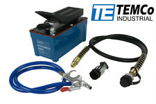 TEMCo Air Hydraulic Pump Power Pack Unit 10,000 PSI 103 in3 Cap 5 YEAR Warranty
