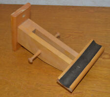 Bicycle display rack, single bike, handcrafted from maple.