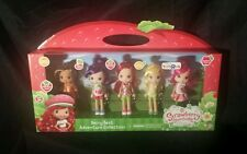 Strawberry Shortcake BERRY BEST ADVENTURE COLLECTION 5 Dolls Figures NEW 2014