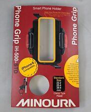 Minoura Handle Bar Phone Grip, Black, 22.2-28.6 mm