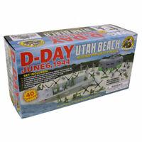 World War II D-Day Utah Beach Playset 40 Pieces 54mm scale