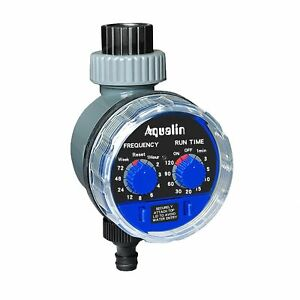 No Need Water Pressure Garden Hose Tap Water Timer AUTO Irrigation Controllers