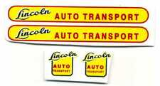 Lincoln Toys Auto Transport Decal Set - Large