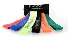 FLEXVIT Loop Bänder - Original Textil Premium Widerstandsband Fitness-Training