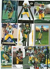 10-javon walker green bay packers card lot nice mix