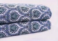 10 Yard Sanganeri Hand Block Print Handmade Cotton Indian Natural Print Fabric