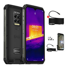 Rugged Smartphone Android 10 OctaCore 128GB 4G Cell Phone Waterproof + Endoscope