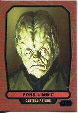 Star Wars Galactic Files 2 Blue Parallel Base Card #360 Pons Limbic