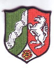 Nordrhein-Westfalen Wappen Patch Aufnäher,Aufbügler,Coat of Arm Landeswappen NRW
