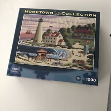 "Hometown Collections 1000Pc Puzzle ""Cape Cod Beach Party"" Heronim Mega Puzzle"