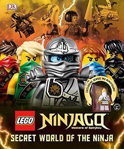 Lego Ninjago: Secret World of the Ninja & Exclusive Sensei Wu Minifigure