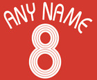 2006 Custom Any Name Number Football Shirt Soccer Numbers Football Adidas Style