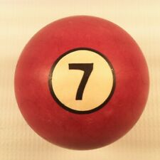 Vintage Clay Replacement Billiards/Pool Ball #7