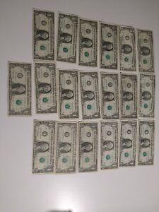 Lot De Billets 31 Dollars Américains
