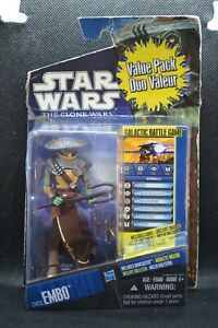 """Star Wars Hasbro The Clone Wars Galactic Battle Game CW-33 """"EMBO"""" Factory Sealed"""