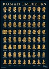 Roman Emperors A3 Wall Chart Poster
